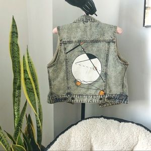 THREAD & SUPPLY | Hand-painted Denim Vest